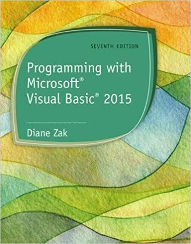 PROG.W/MS VISUAL BASIC 2015