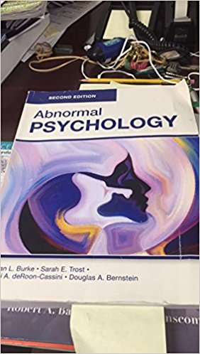 ABNORMAL PSYCHOLOGY (B+W)