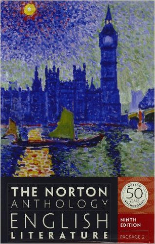 NORTON ANTH.ENGLISH LIT.-VOL D.E.+F