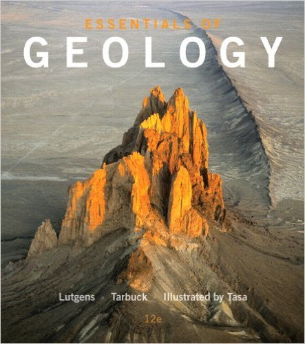 ESSENTIALS OF GEOLOGY-TEXT