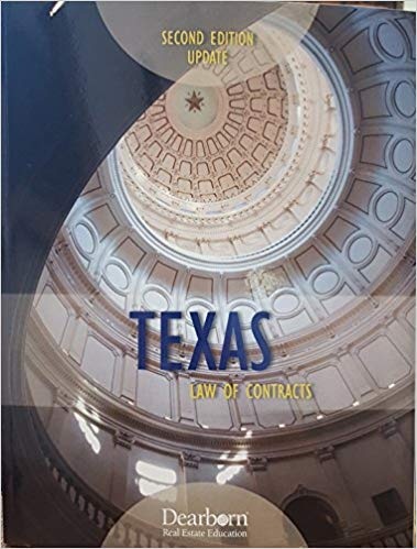 TEXAS LAW OF CONTRACTS-2ND ED.UPDATE