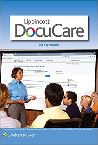 LIPPINCOTT DOCUCARE, ONE YEAR ACCESS CODE