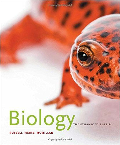 BIOLOGY THE DYNAMIC SCIENCE HARD COVER
