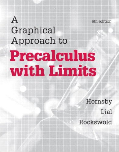 GRAPHICAL APPR.TO PRECALCULUS W/LIMITS