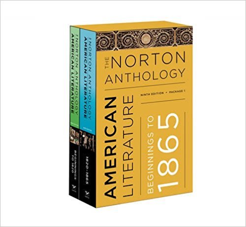 NORTON ANTH. OF AMERICAN LITERATURE VOL A+B