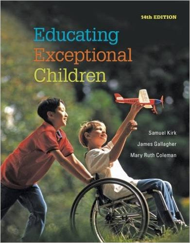 EDUCATING EXCEPTIONAL CHILDREN - TEXT