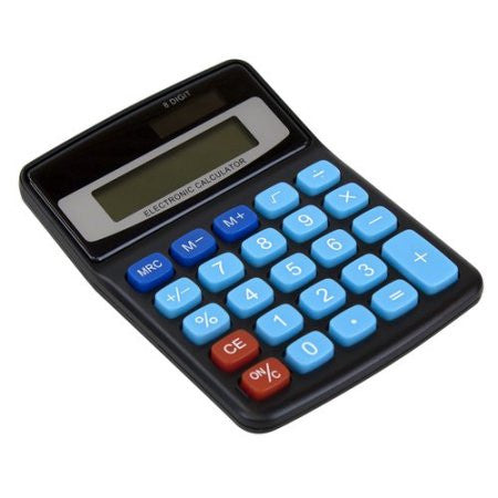 8 DIGIT MINI DESKTOP CALCULATOR