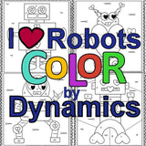 I ♥ Robots Color by Dynamics