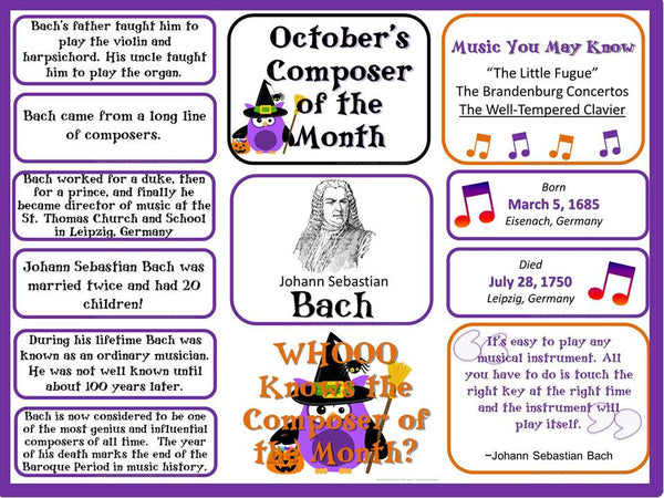 English worksheets: Bach?s Fight for Freedom- from the Composer ...