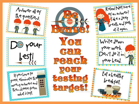 Be Brave!  You Can Reach Your Testing Target