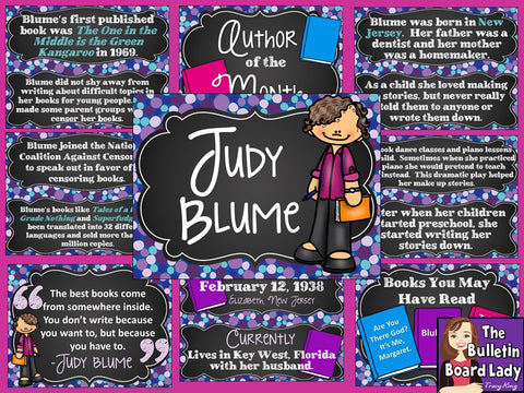 Author of the Month Judy Blume