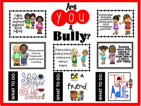 Are You a Bully? Bulletin Board