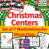 Christmas Centers / Workstations