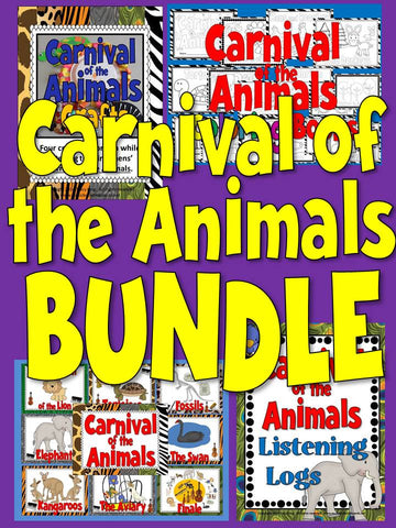 Carnival of the Animals BUNDLE