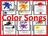 Colors Bulletin Board with Songs for Circle Time