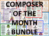 Composer of the Month BUNDLE 1