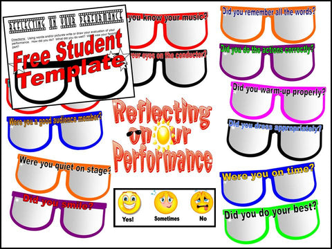 Reflecting on Our Performance Bulletin Board Kit and Student Response Shee