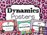Dynamics Posters – Music Rocks Theme