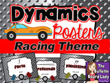 Music Class Décor BUNDLE – Racing Theme