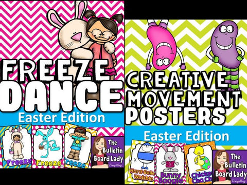 Easter Freeze Dance and Creative Movement