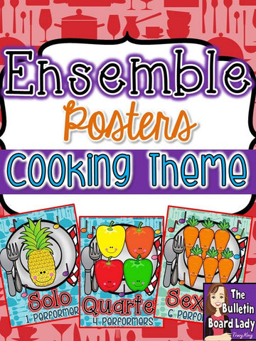 Ensemble Posters - Cooking Theme