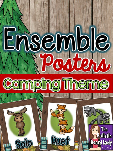 Ensemble Posters - Camping Theme