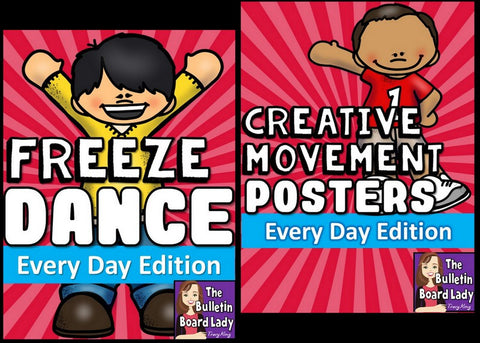Exercise Freeze Dance and Creative Movement