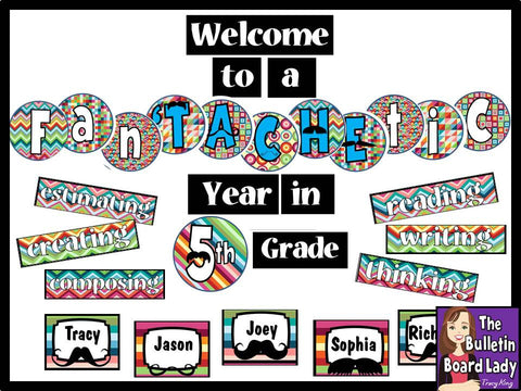 A FanTACHEtic Year - Mustache Bulletin Board