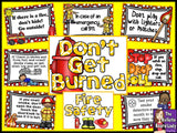 Fire Safety Bulletin Board - Don't Get Burned