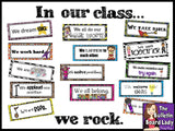 Rock Star Classroom Decor BUNDLE