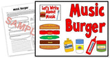 Music Burger-Writing in Music Bulletin Board