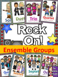 Ensemble Posters - Rock Star Theme