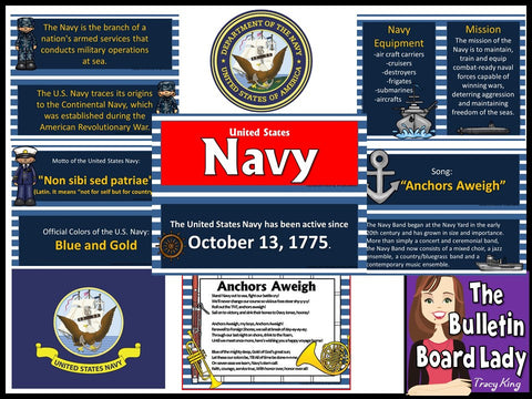 U.S. Navy Bulletin Board