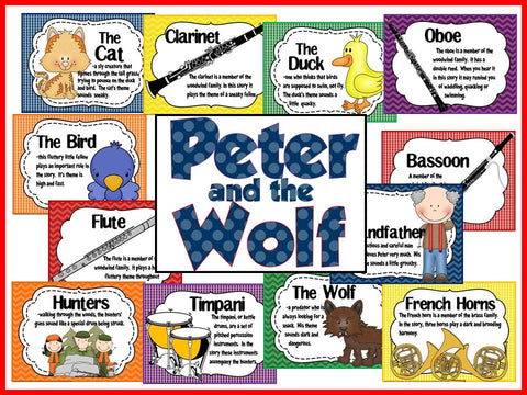 Peter And The Wolf Bulletin Board The Bulletin Board Lady
