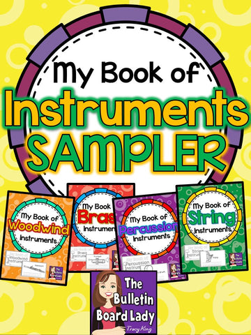 My Book of Instruments SAMPLER