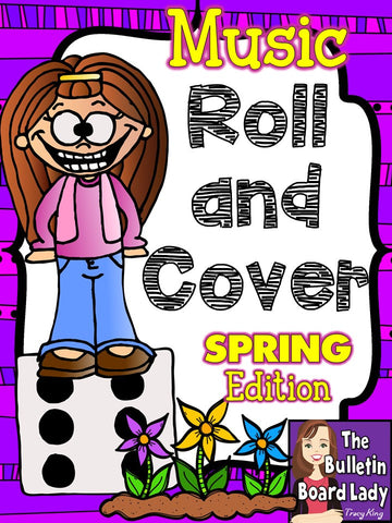 Music Roll and Cover - SPRING
