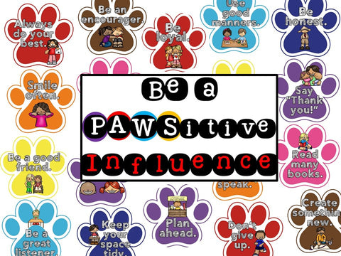 Be a PAWSitive Influence Bulletin Board
