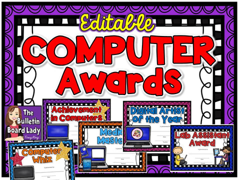Computer Lab Award Certificates