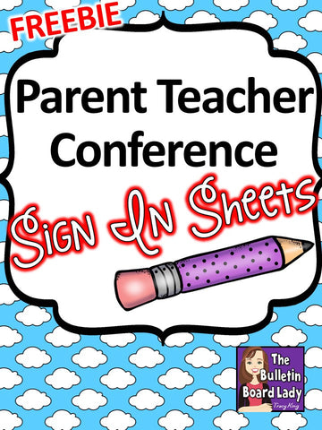 Parent Teacher Conferences Sign In Sheets