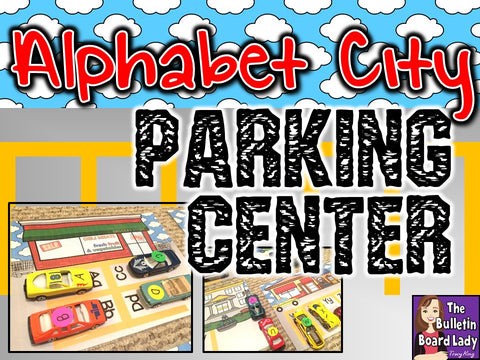 Alphabet City – An Alphabet Workstation with Little Cars