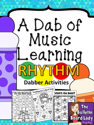 Dabber Activities for Music Class – Rhythm