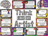 Think Like an Artist Bulletin Board