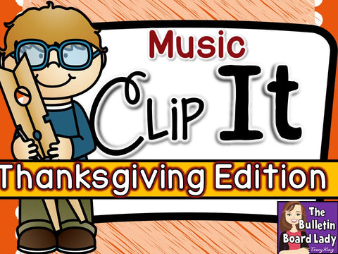 Music Clip It - Thanksgiving Edition