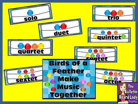 Bird Ensembles Solo, Duet, Trio, etc...Bulletin Board