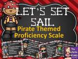 Proficiency Scale - Pirate Theme