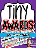 Tiny Award Certificates for Everyday Music Classroom