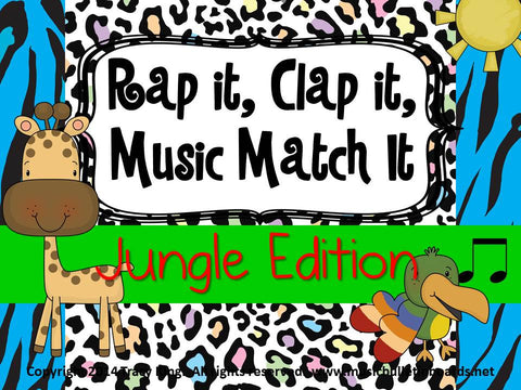 Rap It, Clap It, Music Match It: Jungle Edition