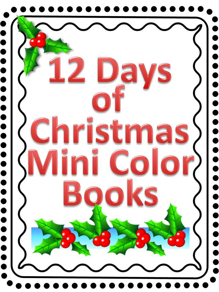 12 Days of Christmas Mini Coloring Book – The Bulletin ...