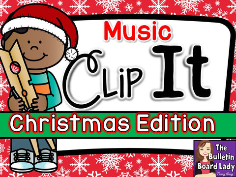 Music Clip It - Christmas Edition