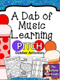 Dabber Activities for Music Class – Pitch